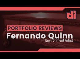 Portfolio Review: Fernando Quinn - YouTube