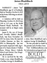 Obituary for James Muehlbach