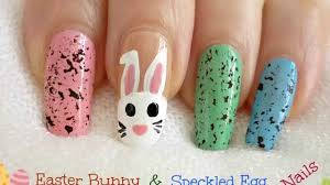 2014 BPS Nail Art Contest #10 Easter Bunny & Speckled Egg Nails by ...