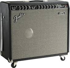 1x15 Guitar Cabinet Fender 65 Twin Custom 15 Guitar Combo Amplifier 85 Watts 1x15