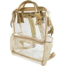 Capri Designs Backpack Capri Designs Hinge Top Backpack Top Backpacks Gold