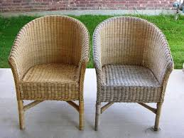 wicker furniture ideas.  Furniture Painting Wicker Furniture With A Brush Throughout Ideas