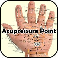Pressure Point Charts Free Sujok Acupressure Points Chart Acupressure Point Chart For