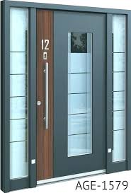 contemporary entry doors with glass sy modern front door composite side panels
