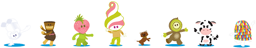 menchie s frozen yogurt franchise branding case study wpd by developing a mascot and the supporting friends menchies had a proprietary set of characters that could be developed over time out dealing