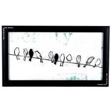 >black white birds on a wire framed wall from hobby lobby black white birds on a wire framed wall art shop hobby lobby