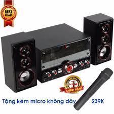 Giá Niêm Yết Dàn âm thanh tại nhà - loa vi tính- tặng kèm Micro không dây  hát karaoke có kết nối Bluetooth USB Isky - SK313U giá rẻ 959.000₫