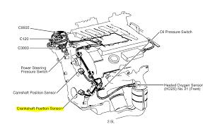 where is the crank position sensor located on 2002 mercury cougar 2 5l 2001 cougar fuse box diagram 2001 Cougar Fuse Box Diagram #43