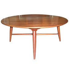 mid century modern round coffee table drinker