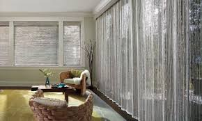 window treatments for patio sliding glass doors hunter douglas door coverings