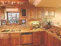 Western Style Kitchen Cabinets Natural Style Graces Southwest Kitchens Hgtv