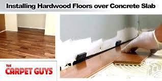 installing hardwood floor hardwood floor on concrete slab can you install hardwood flooring over linoleum