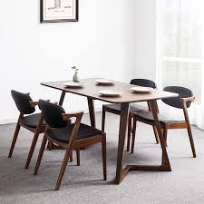 get quotations jia jia love japanese white oak dining table nordic walnut color combination of solid wood dining