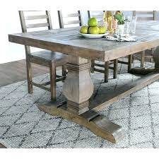 grey reclaimed wood kitchen table unfinished round dining four desert by home