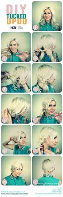 Beautiful And Easy Diy Tucked Updo