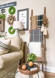 diy craft rustic home decor rustic decorative ladder the creative corner diy cr on the images