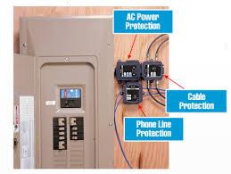 breaker box surge protector. Simple Surge To Breaker Box Surge Protector ShedHeads