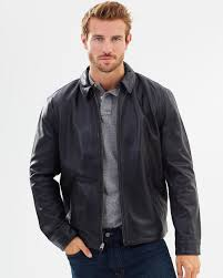 lambskin leather jacket by polo ralph lauren the iconic australia polo black 100