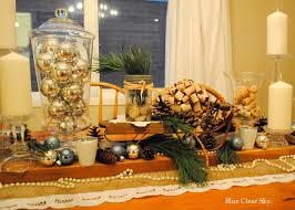 christmas centerpieces for dining room tables. Christmas Dining Room Table Vignette Centerpieces For Tables E