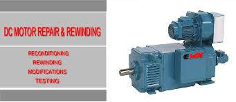 dc motor repair rewinding