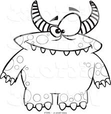 Monster Coloring Pages Kids With Page - glum.me