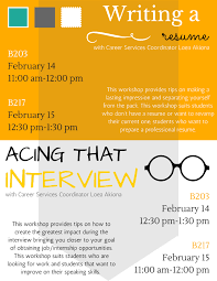 e kamakani hou resume and interview workshops career receive tips on making a lasting impression your resume or in person at resume and interview workshops uh west o699ahu career services coordinator