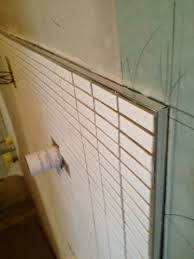 fantastic of a bullnose tile used in his bathroom project bathroom tile ideas