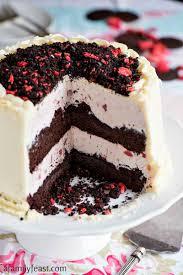 Chocolate Crunch Strawberry Ice Cream Cake A Family Feast