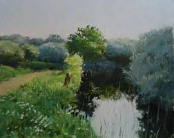 look at this beautiful green landscape in oils by james willis now available on arttutor oil painting lessonsoil