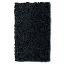 black bathroom mats bath rug set