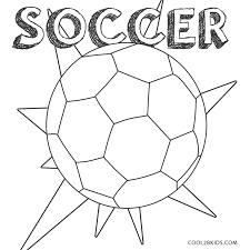 6 soccer pictures to color. Free Printable Soccer Coloring Pages For Kids