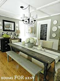 rustic dining room wall decor attractive dining room table ideas best farm decor on tables brilliant everyday square recycled wooden pallet rustic dining