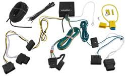 which trailer wiring harness will fit a 2011 ford escape limited t one vehicle wiring harness 4 pole flat trailer connector