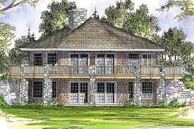 prairie style house plan grandview 10 249 rear elevation