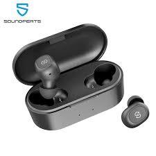 Беспроводные <b>наушники SoundPEATS TWS</b> 5.0 - купить ...