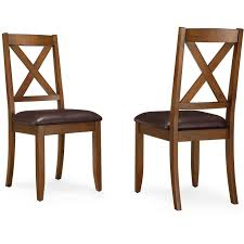 Dining Room Chairs Kitchen Table Chair Set Of 2 Farmhouse Rustic