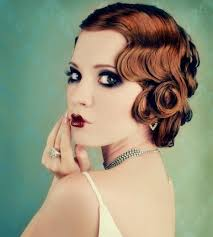 perfect 1920 s hair and makeup considering dying my hair this color too