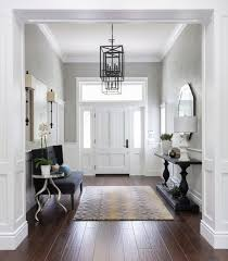 FOYER couch and console table with mirror on opposing sides 7 Tips for the  Perfect Welcoming Hallway - Making your HOME beautiful