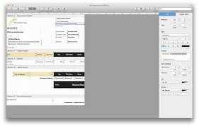 in template mac billsonar apple os x osx design editor selected element textedit numbers free word