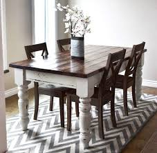 rustic white dining table. Perfect Table Unique Dining Table Tip Including White Distressed Pertaining To Plan 8 Intended Rustic