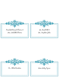 Free Place Card Templates 6 Per Page Under Fontanacountryinn Com