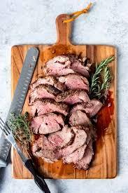 Especially with a good horseradish sauce. Garlic Herb Butter Beef Tenderloin Roast House Of Nash Eats