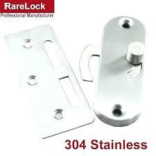 sliding door pin lock sliding glass