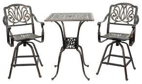 premium steel patio table