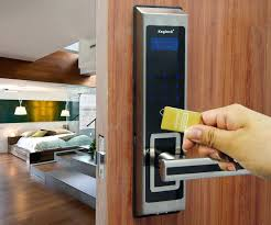 full image for magnetic key card door locks details about hotel lock touch screen password door