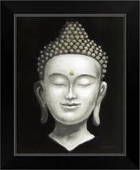 serene buddha ii white gold black