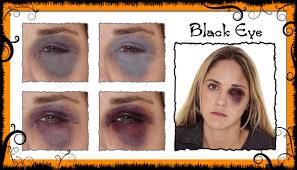 black eye makeup