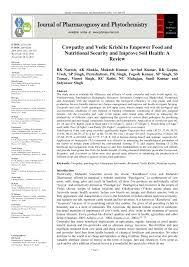 pdf cowpathy and vedic krishi to empower food and nutritional security and improve soil health a review