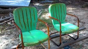Retro Metal Patio Chairs Retro Metal Patio Chairs Antique Lawn Best