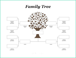 Family Tree Templates Microsoft Latest Microsoft Word Family Tree Template Of 50 Free Family Tree
